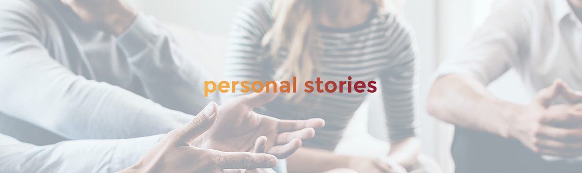 Personal Stories Banner